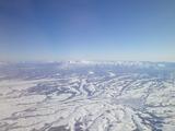 北海道 美瑛上空