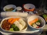 NZ帰り2回目の機内食