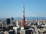 富士山と東京タワー