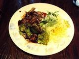 牛肉とブロッコリーのタリアッテレ