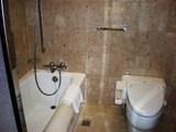 バスルームのトイレ