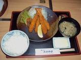 エビフライ定食 ¥980