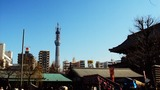 浅草寺からのスカイツリー2