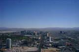 ストラトスフィアからのベガスの風景