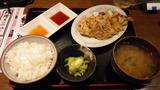 野菜餃子定食¥490