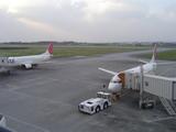 宮古島空港2機