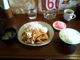 生姜焼き定食 ¥490