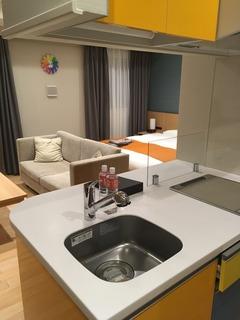 客室 キッチン