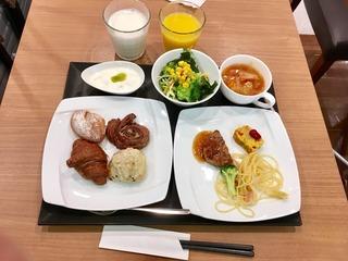 1日目 朝食