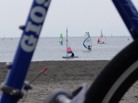 MIGNONと逗子海岸_2
