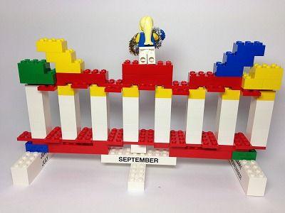 LEGOカレンダー10月裏