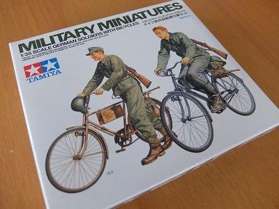 TAMIYA_ドイツ歩兵自転車行軍セット_1