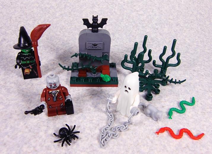 850487 LEGO Halloween Accessory Set レビュー。 : レゴ道