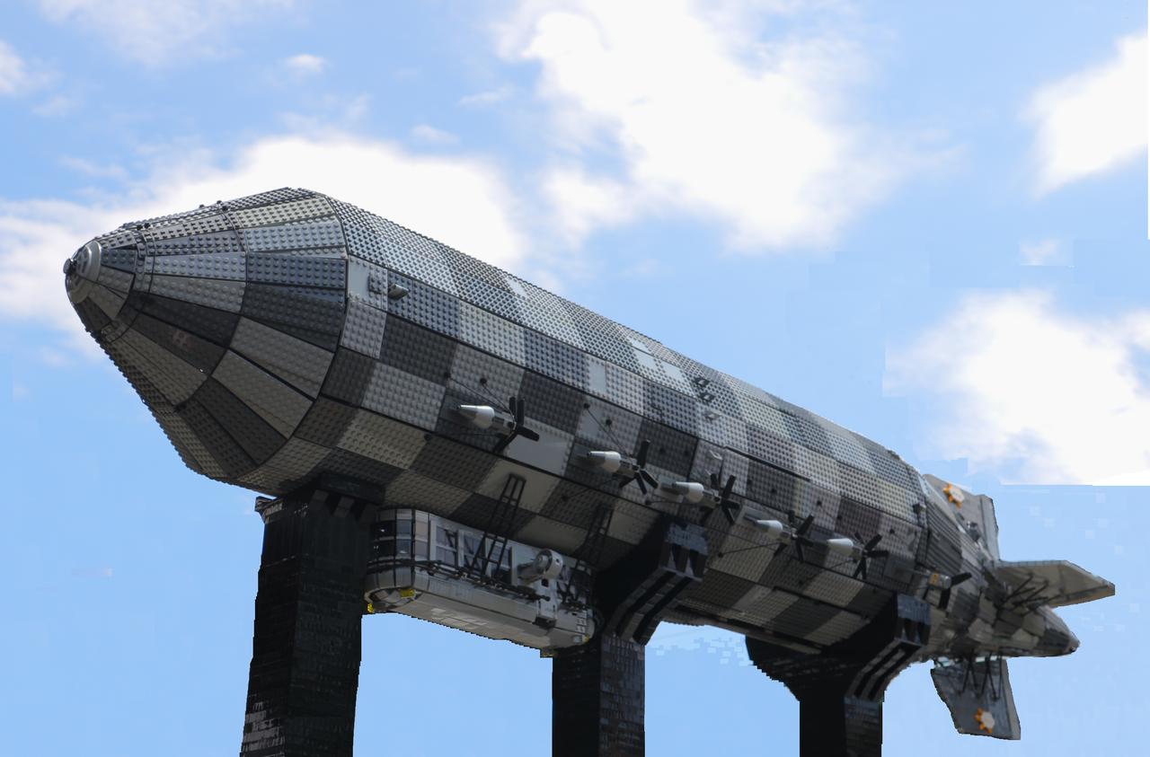 LEGO艦船作品図鑑 「空中・飛行艦船」 : LEGO艦船情報専用&航海日誌