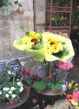 サン・ルイ島のお花屋さん
