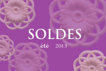 SOLDES 2013 イメージ(2)