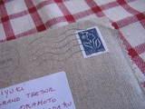 リネンの封筒