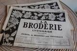 刺繍の新聞