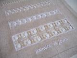 刺繍マット