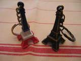 エッフェル塔のキーホールダー