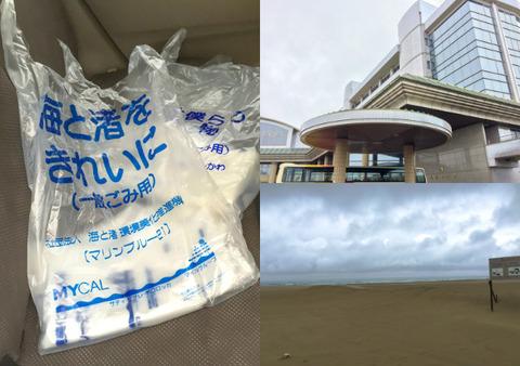実践レポ:海岸清掃(05月)の様子