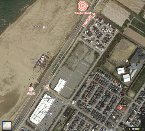 実践レポ:LELIBI定期海岸清掃(08/07、内灘)の様子