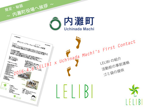 LELIBI発足秘話:内灘町役場へ初コンタクト