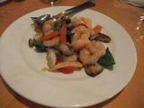 海老と野菜の塩炒め