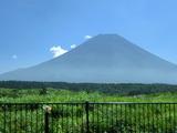 朝霧高原の富士山