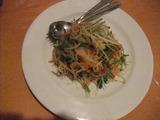 四川風クラゲのサラダ