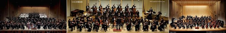 ② NHK交響楽団 (東京音楽大学合唱団)