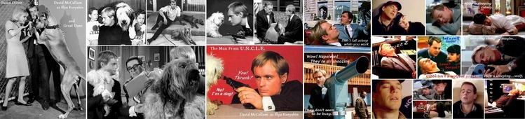 ■ ④David McCallum and Susan Oliver_Man_from_UNCLE