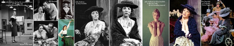 ※ Julie Andrews My Fair Lady - Eliza Doolittle_H700 ++