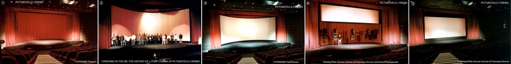 ① Cinerama Screen & Cinemascope