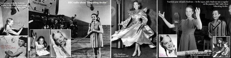 ※ Young Julie Andrews  H718