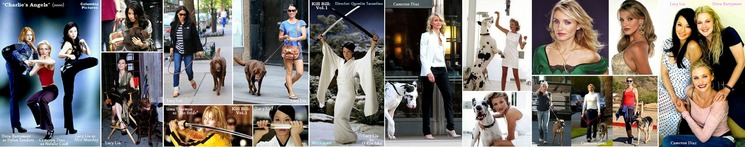 ◆ Lucy Liu and Cameron Diaz ++
