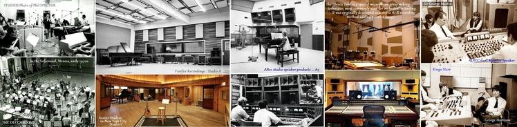 ●①Recording Studio examples