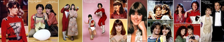 ■ ①Robin-Williams-Pam Dawber