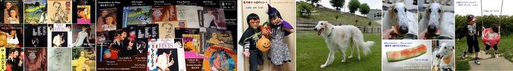 ■01 懐かしのLPレコード & Leon, Sarah, Lukie, Leah -1