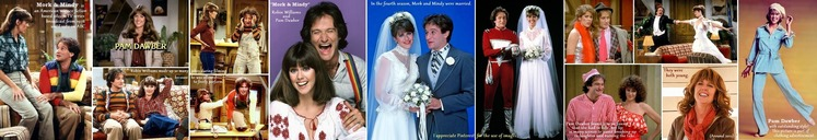 ■ ④Mork & Mindy - Pam Dawber and Robin Williams H700