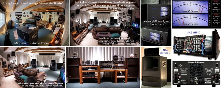 Garrett Audio Room
