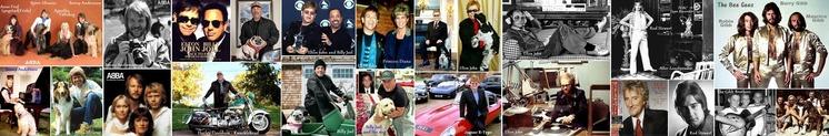 ■ ABBA Billy Joel Elton John Rod Stewart BeeGees