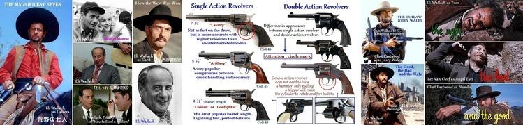 ※イーライ・ウォラック& 銃の概要説明