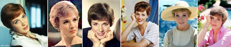 ※ Julie Andrews color portraits H705