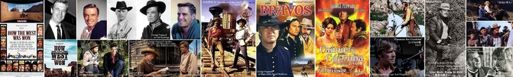 ■05- George Peppard in western movies