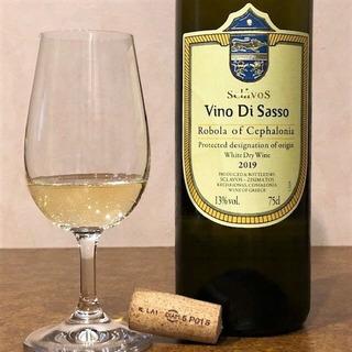 domaine sclavos robola de cephalonie vino di sasso