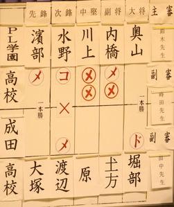 予選PL対成田