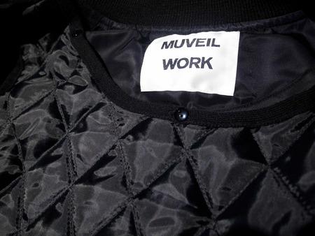 MUVEILミュベール ミリタリーロングブルゾン