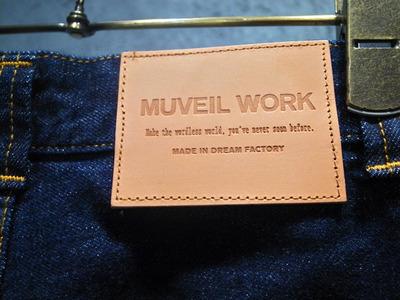 MUVEILWORKミュベールワークデニム