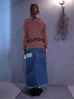 muveil ミュベールデニムロングスカート